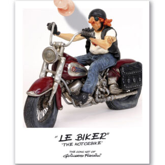 451-0013 THE MOTORBIKE / LE BIKER by Forchino