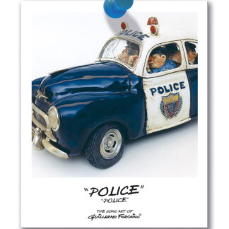 451-0008 THE POLICE / LA POLICE by Forchino