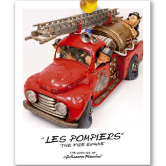451-0014 THE FIRE ENGINE / LES POMPIERS  100% - BIG SIZE by Forchino