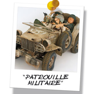 451-0034 MILITARY PATROL / PATROUILLE MILITAIRE by Forchino