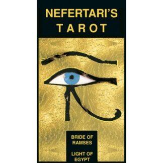 804-0014 COLLECTIBLE TAROT NEFERTARI GOLD IMPRESSIONS
