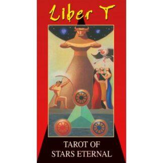 804-0085 COLLECTIBLE TAROT LIBER T (TAROT OF STARS ETERNAL) LO SCARABEO