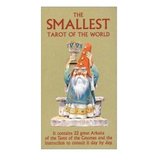 804-0074 COLLECTIBLE THE SMALLEST TAROT IN THE WORLD LO SCARABEO
