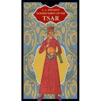 804-0092 COLLECTIBLE TAROT GOLDEN OF THE TSAR LO SCARABEO