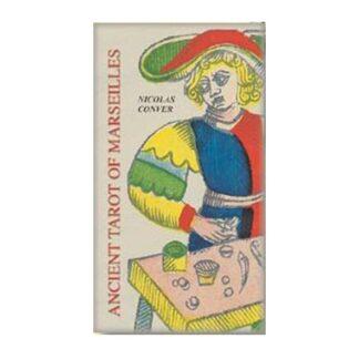 804-0111 COLLECTIBLE TAROT ANCIENT OF MARSEILLES LO SCARABEO